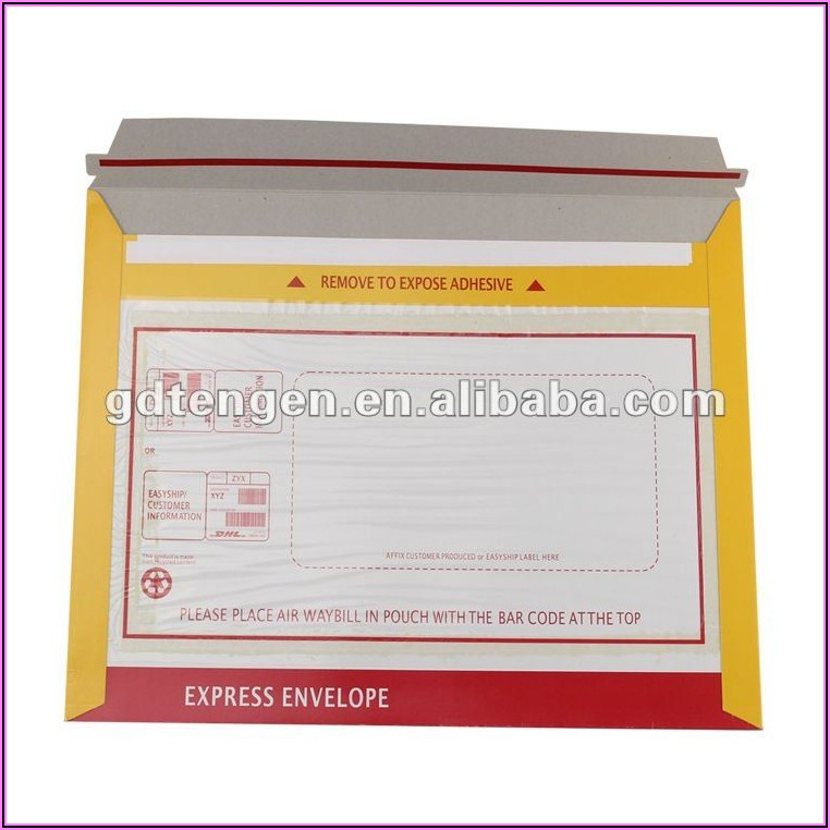 Dhl Express Envelope Size