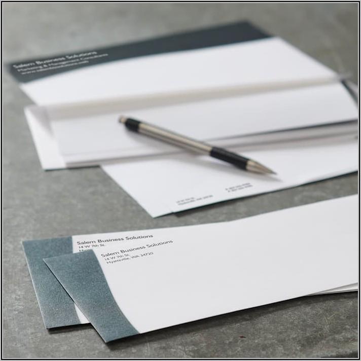 Does Vistaprint Address Envelopes