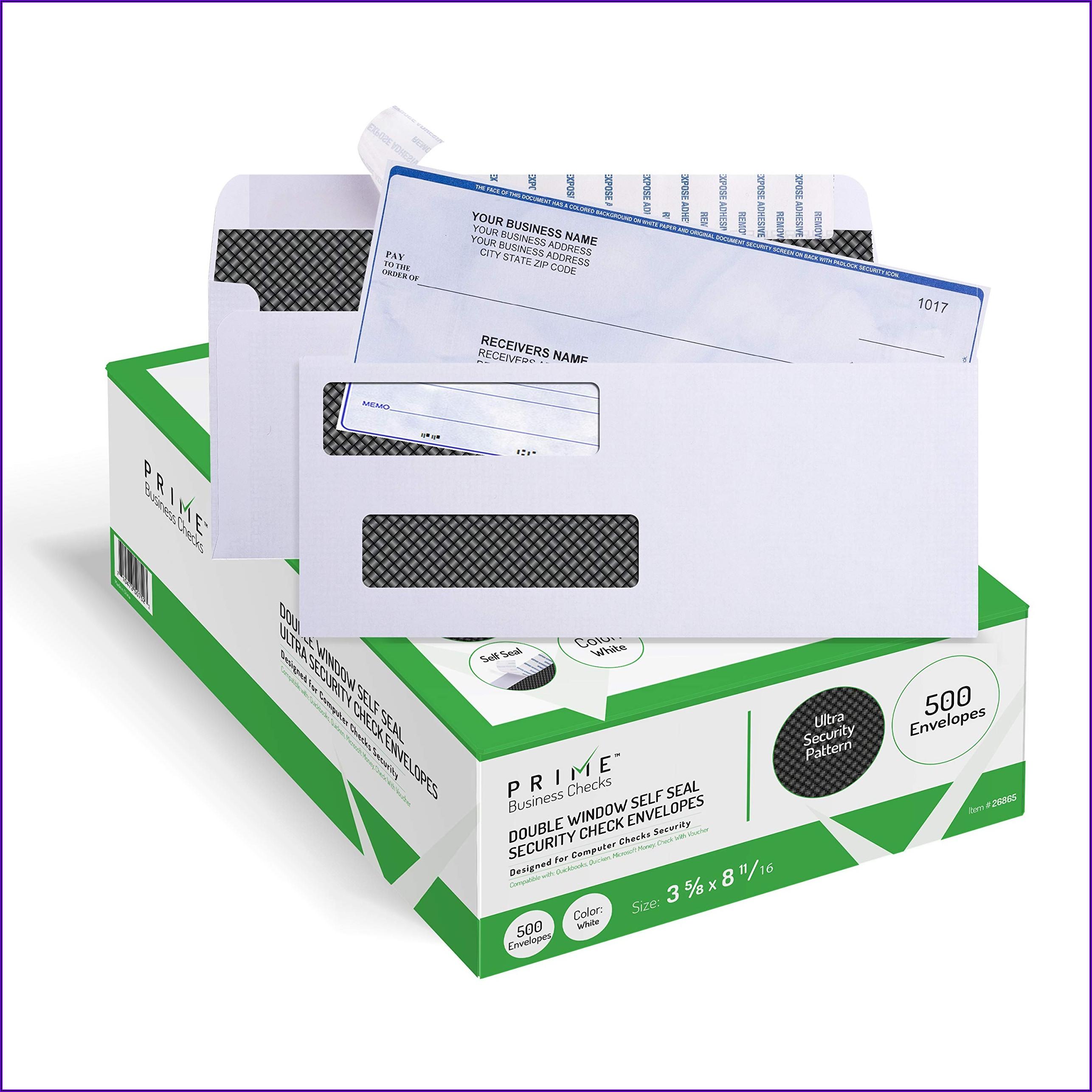 Double Window Business Envelopes