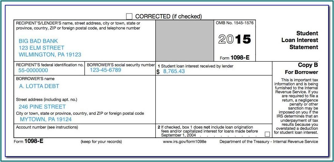 Download 1098 T Tax Form