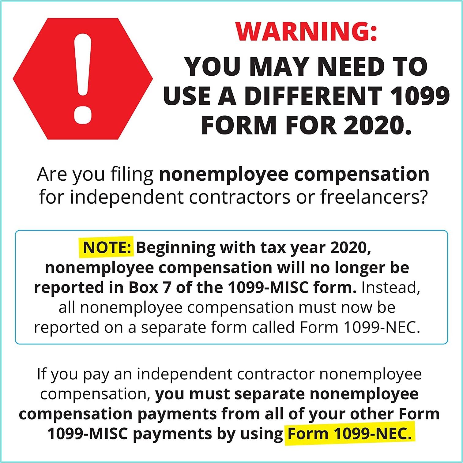 Download Form 1099 Misc 2019