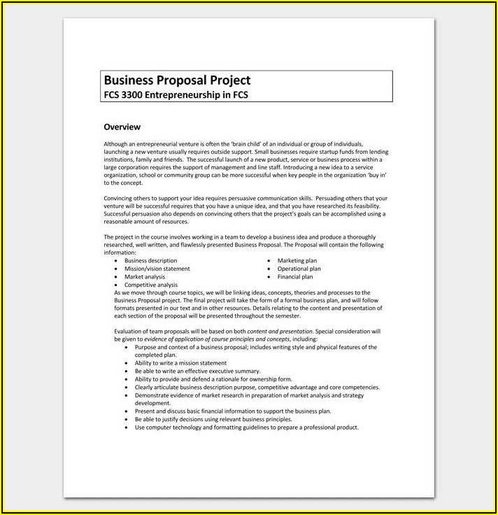 Download Free Marketing Proposal Template
