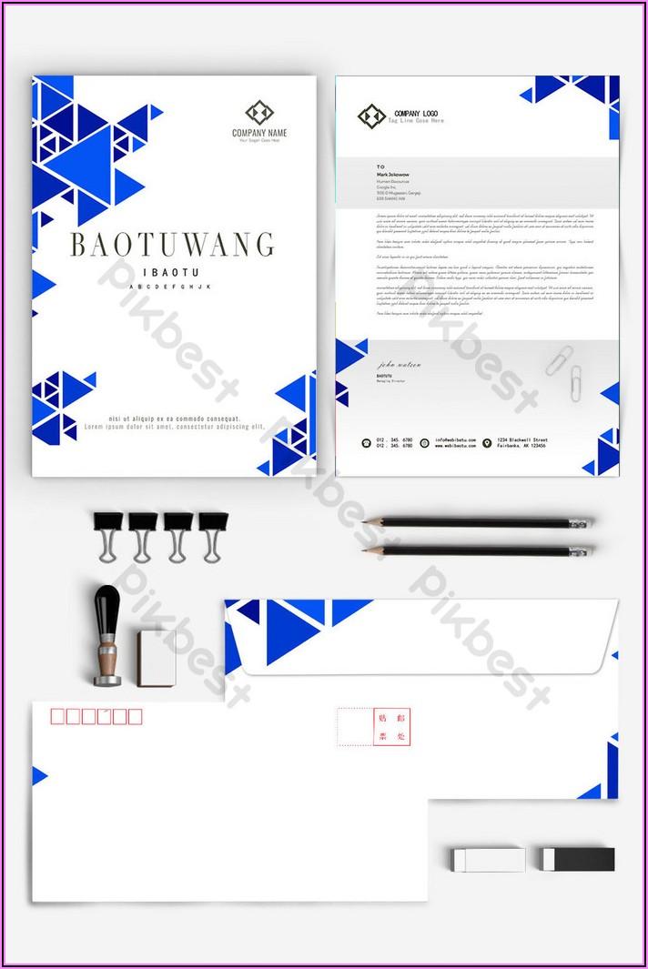 Envelope Template Ai Free Download