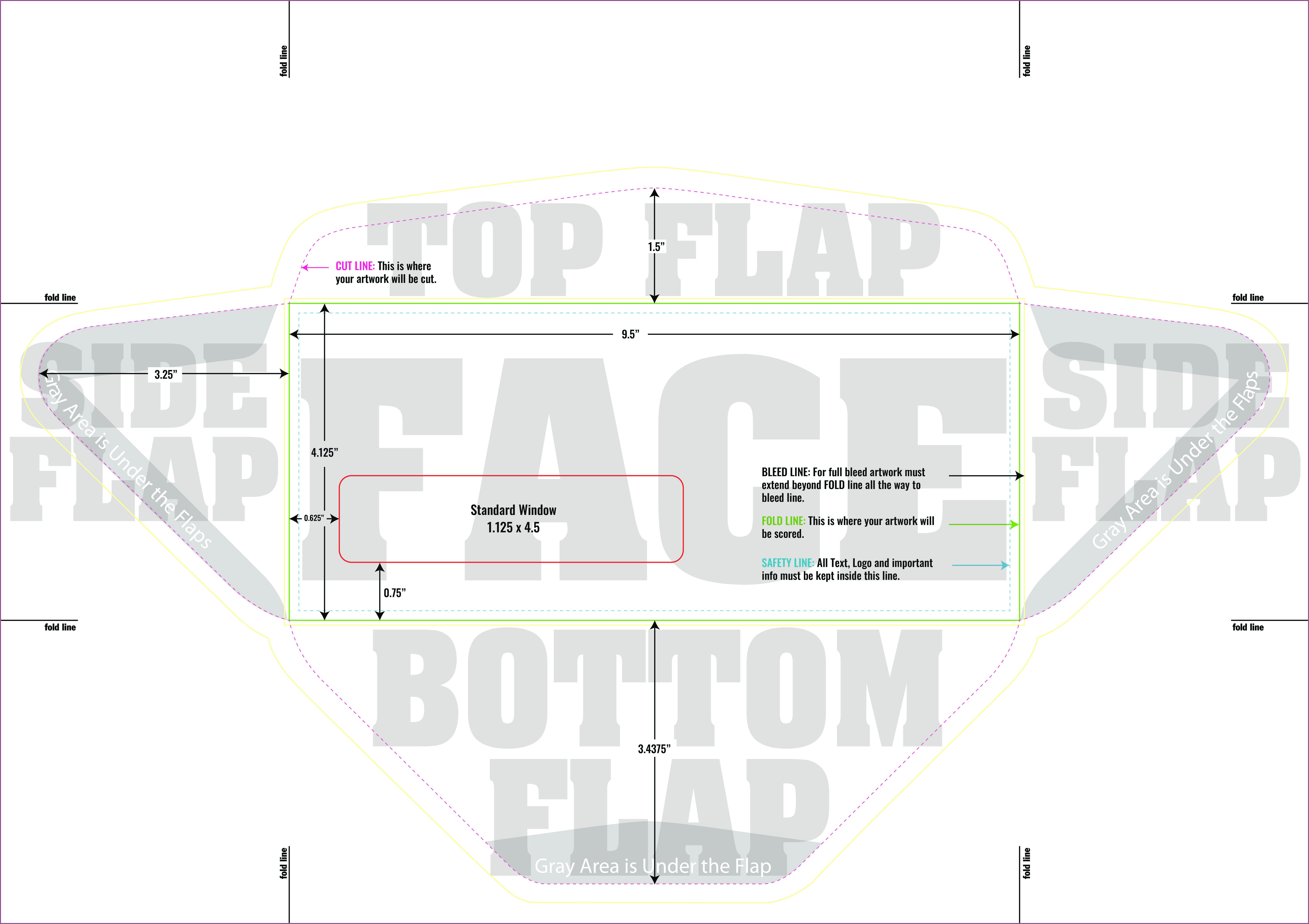 Envelope Template Illustrator Free Download