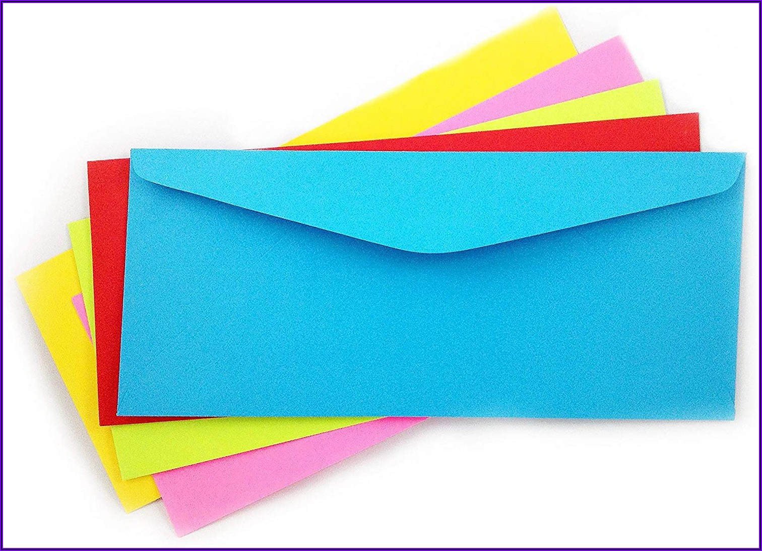 Envelopes #10 Single Left Window Self Seal Security Envelopes 500 Count