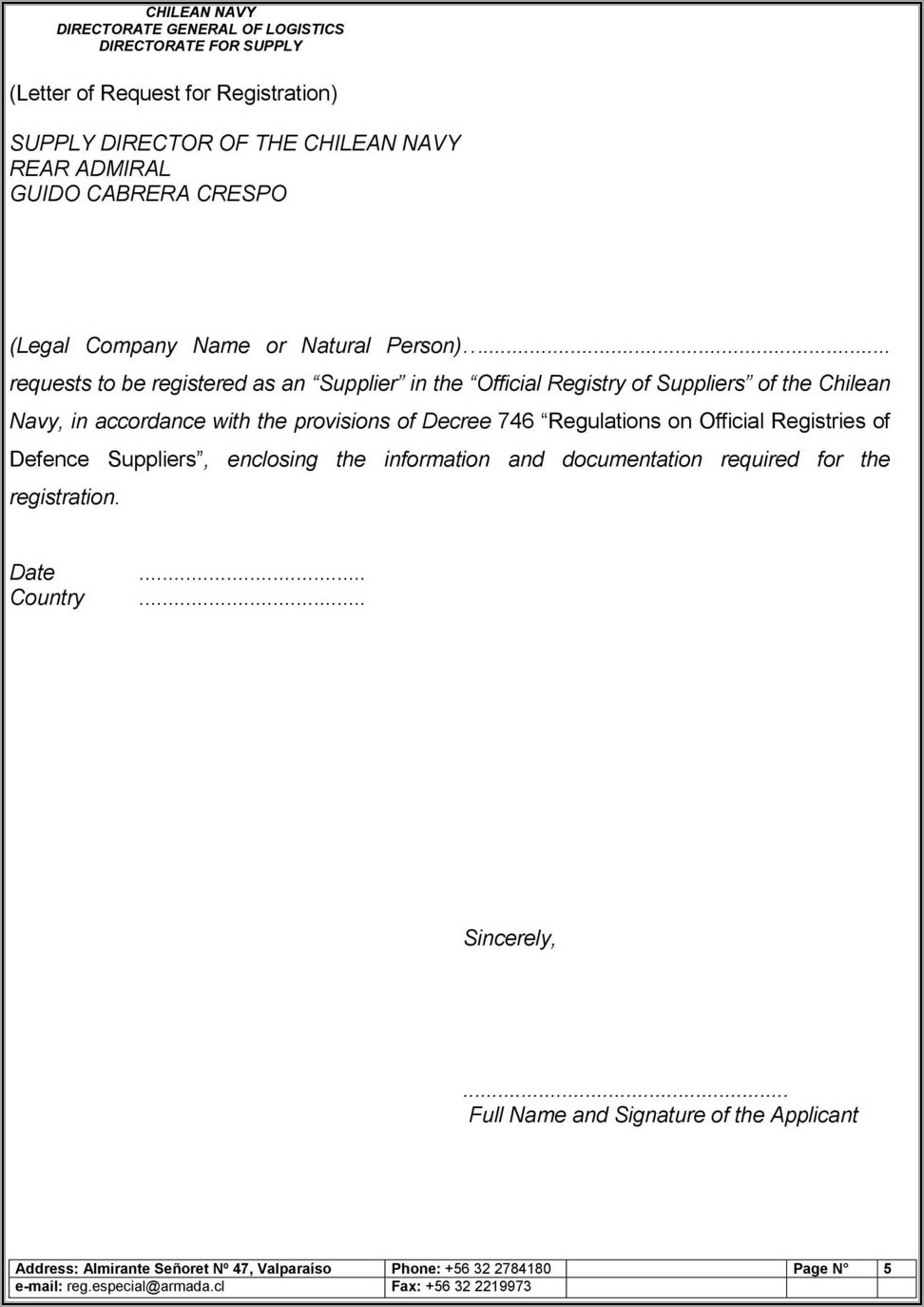 Etihad Registration Form