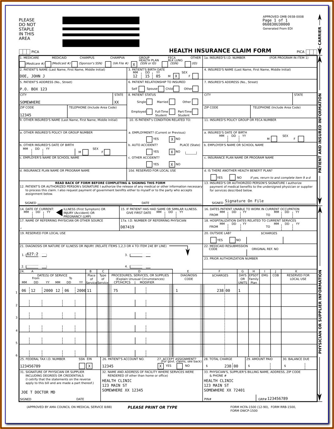 Fillable W2c Form Free