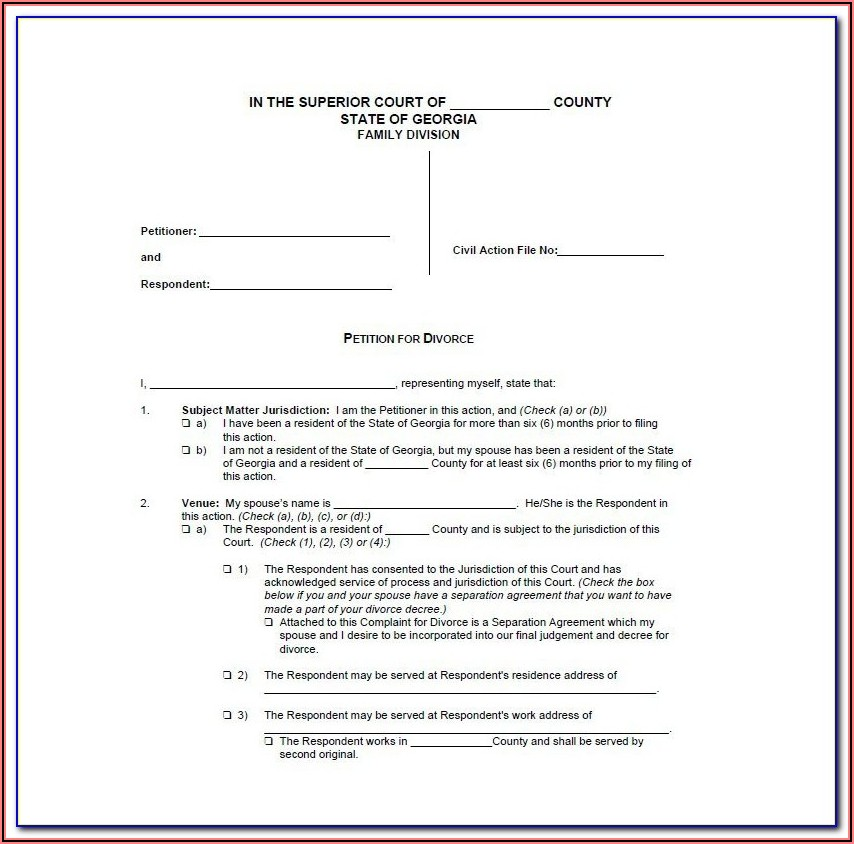 Final Decree Of Divorce Form Mississippi