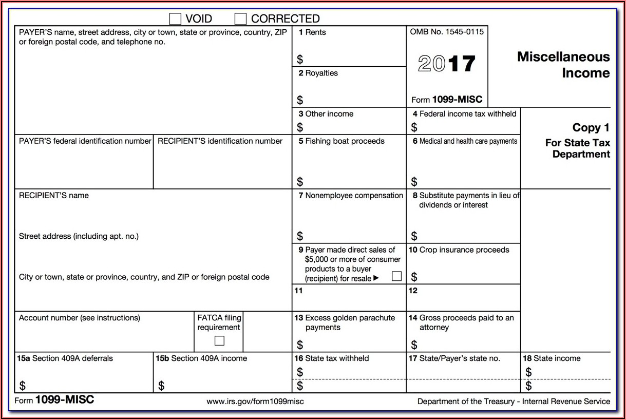 Form 1099 Misc Box 3 Other Income