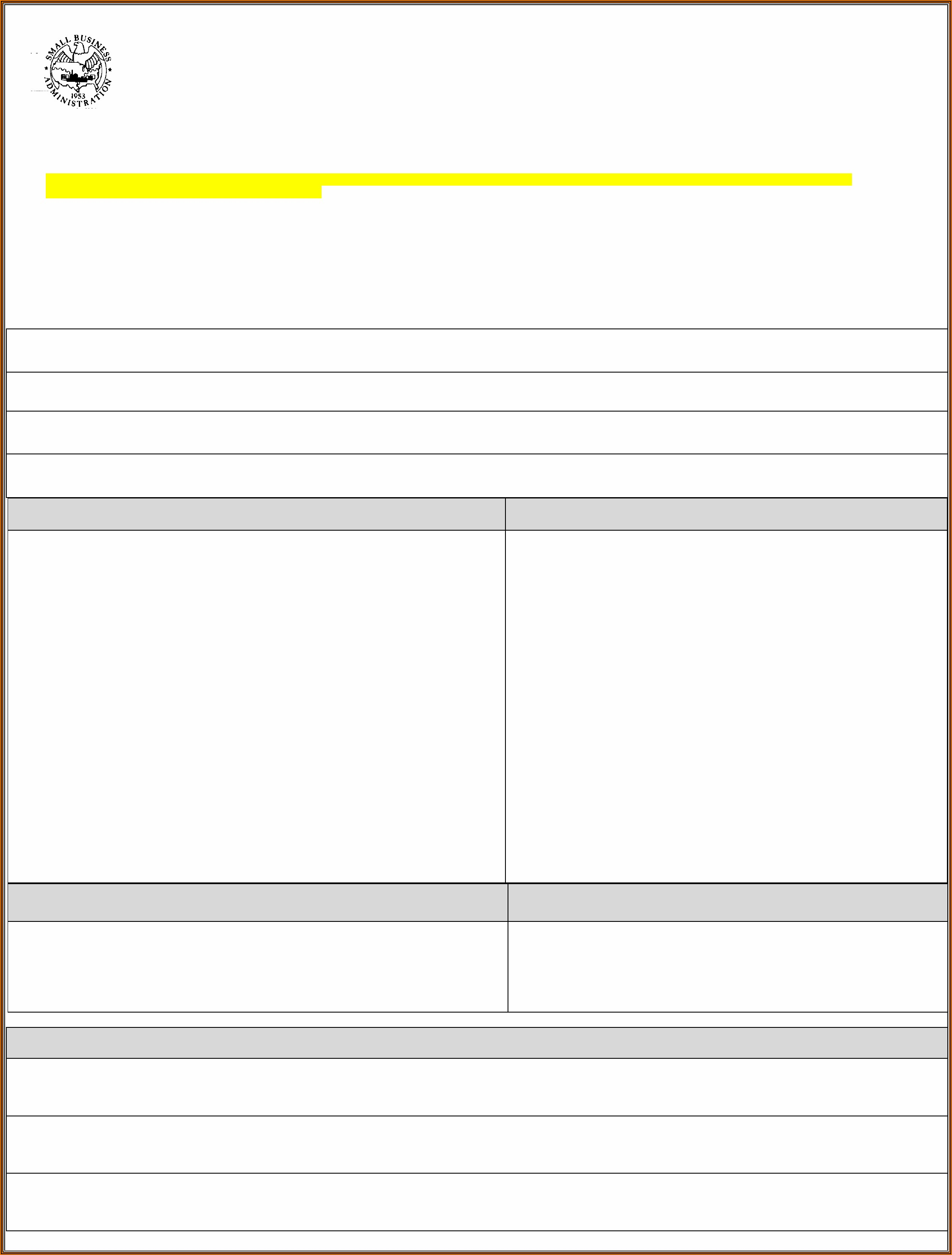 Free Blank Personal Financial Statement Form Download