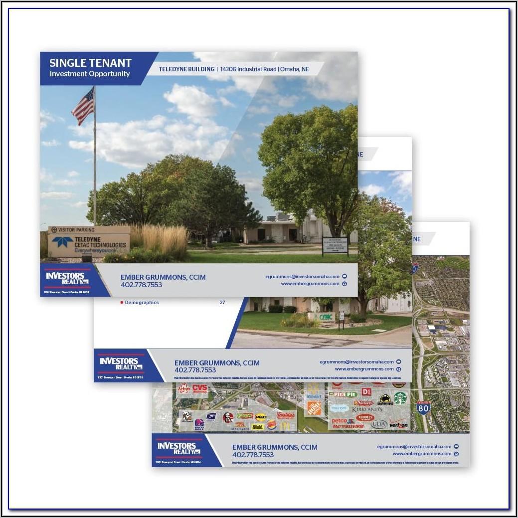Free Commercial Real Estate Offering Memorandum Template