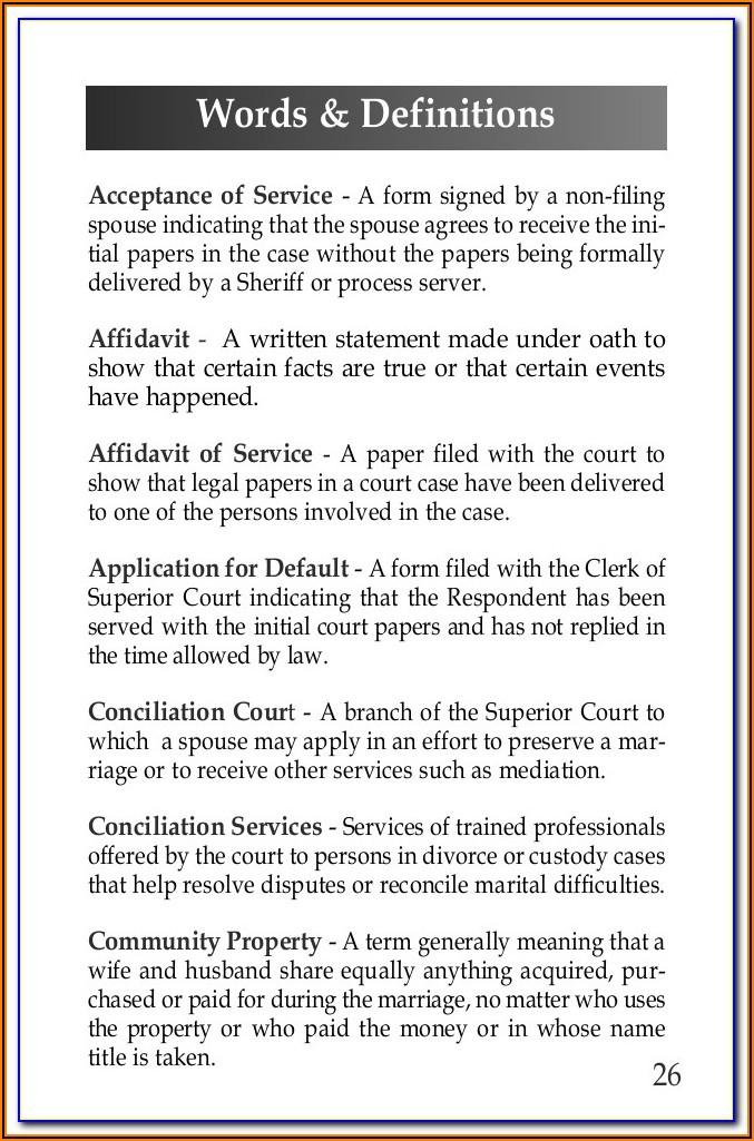 Free No Fault Divorce Forms Mississippi