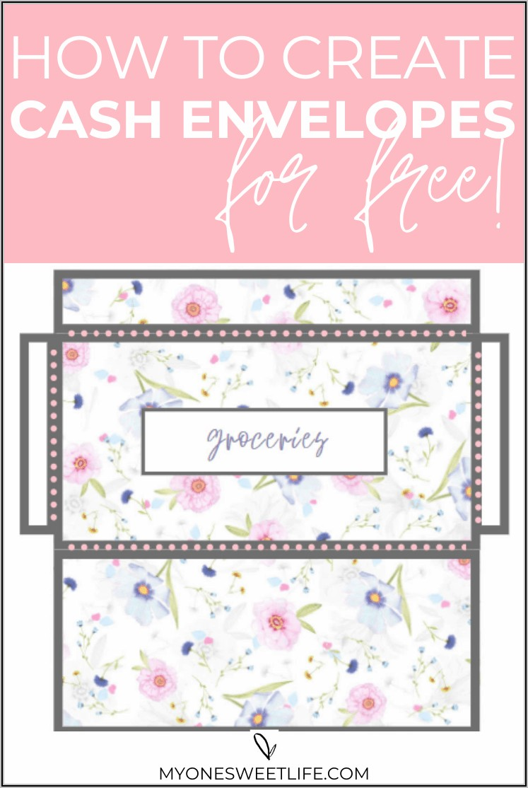 Free Printable Money Envelope Template Pdf
