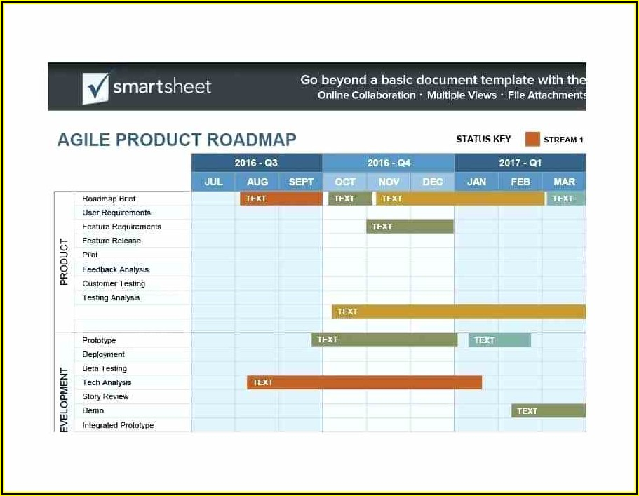 Free Product Roadmap Template Ppt