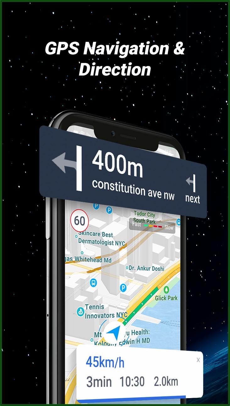 Gps Navigation Map Locator