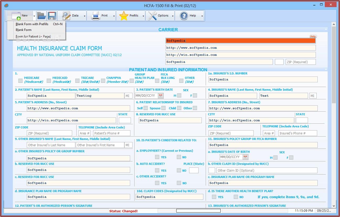 Hcfa 1500 Form Filler Software