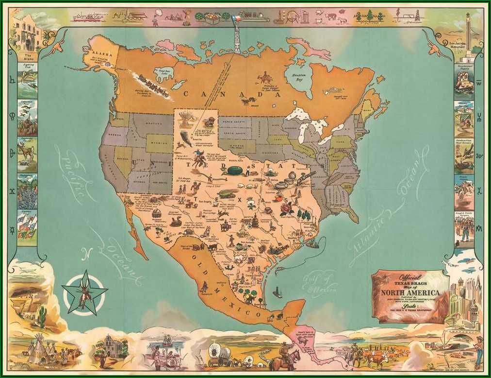 Historic Texas Maps For Sale