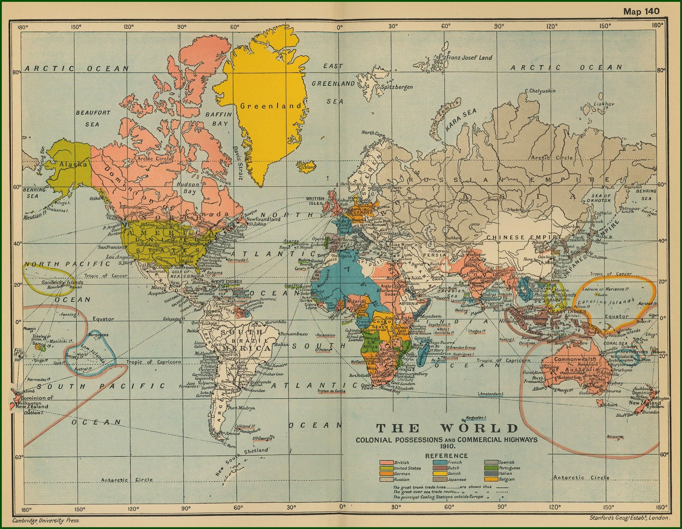 Historical World Maps For Sale