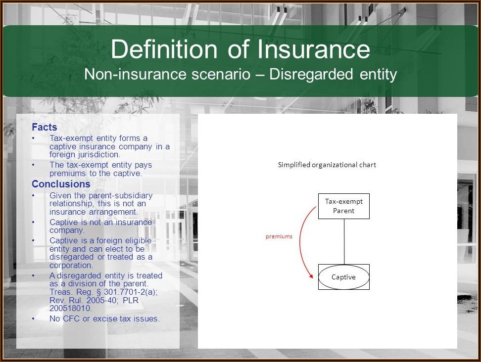 How To Form A Captive Insurance Company