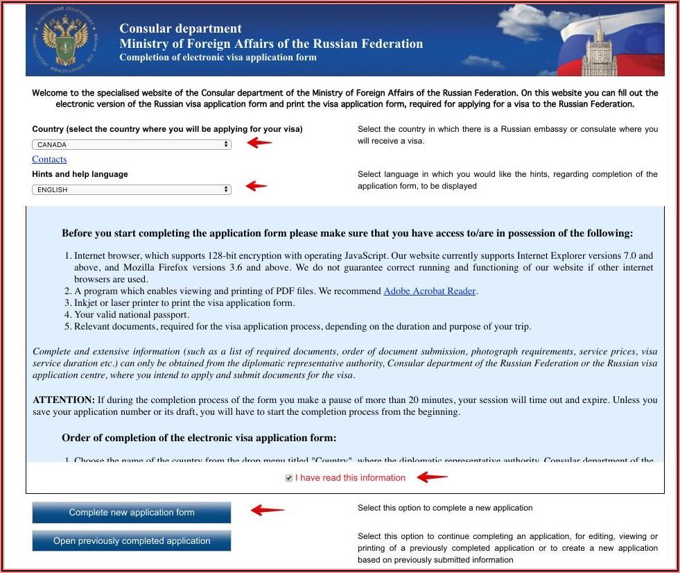 India Tourist Visa Application Form Canada