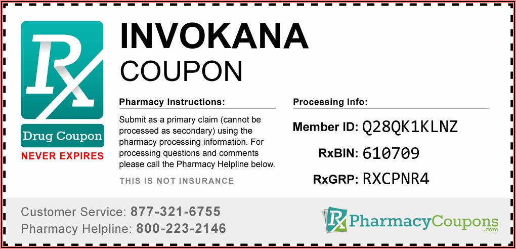 Invokana Patient Assistance Program Application