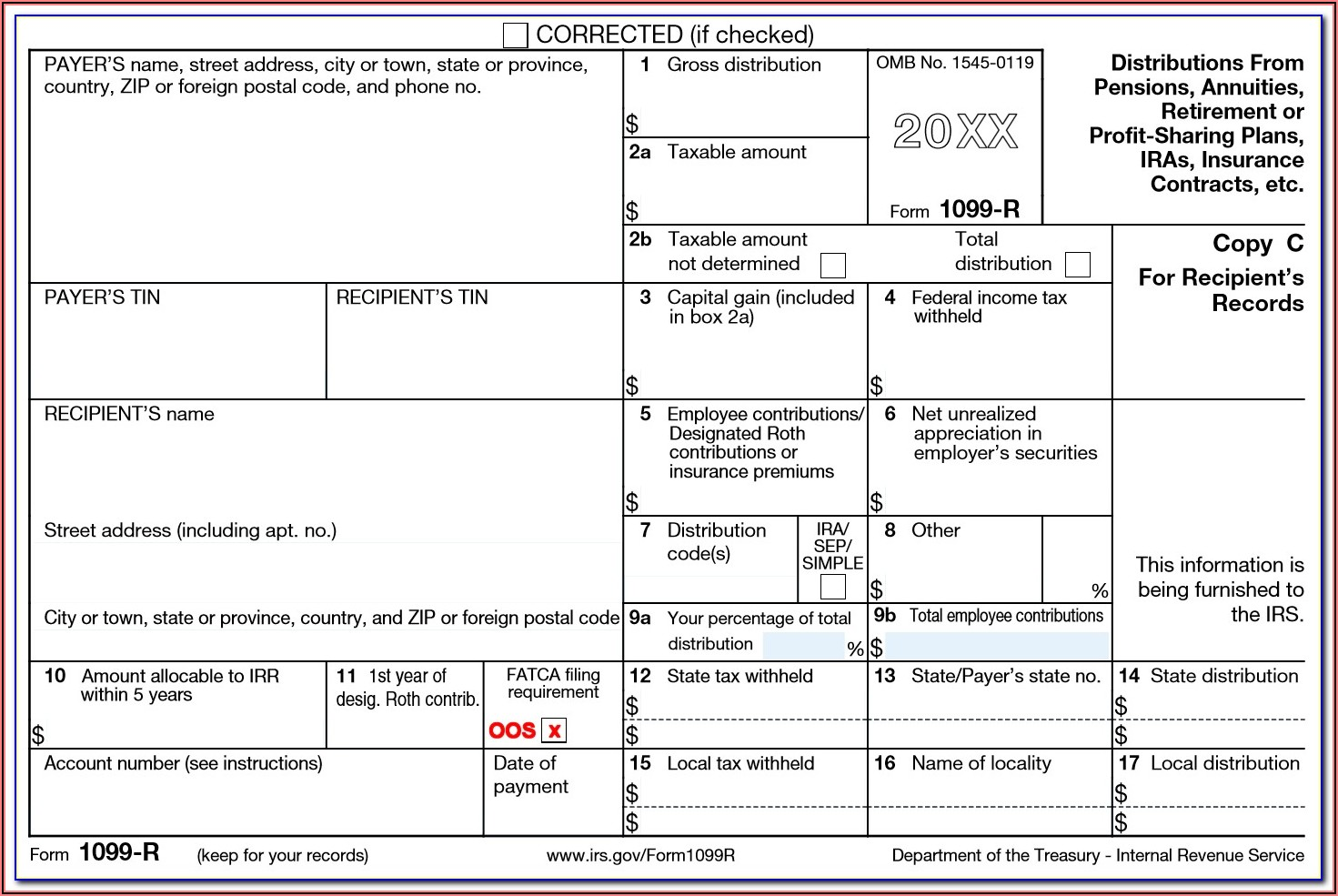 Ira Distribution Tax Forms