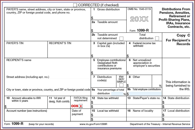 Ira Distribution Tax Forms