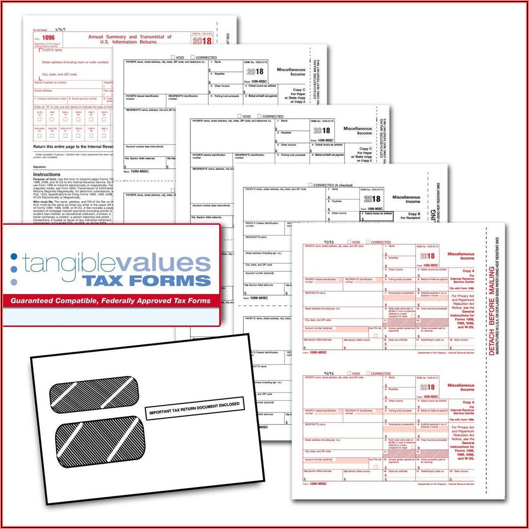 Irs Substitute Form 1099 Misc
