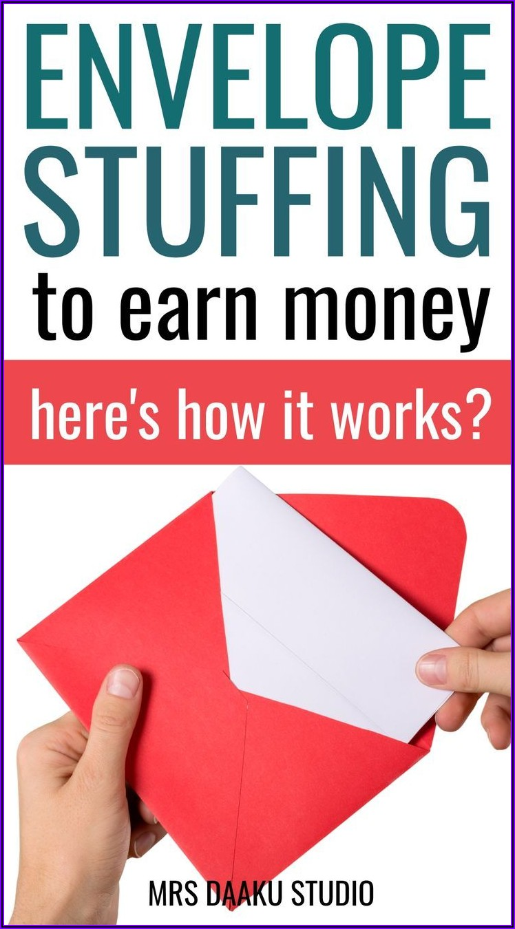 Is Stuffing Envelopes At Home A Real Job