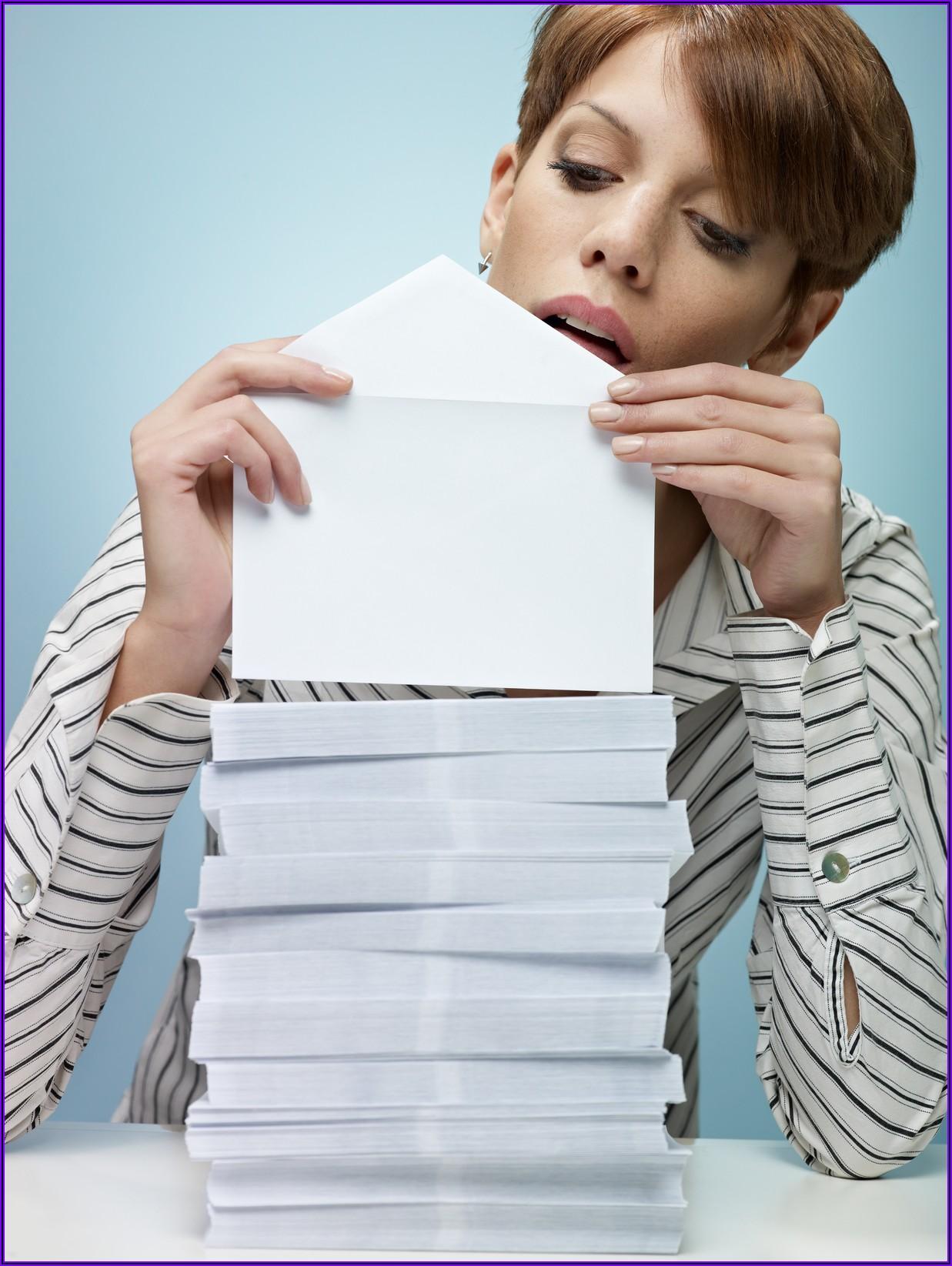 Is Stuffing Envelopes At Home Job Legitimate