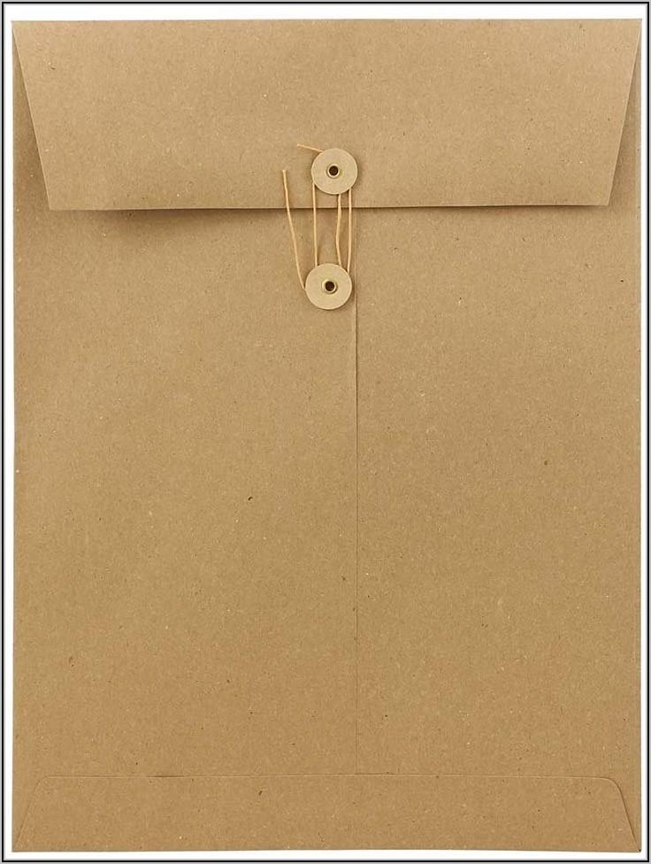 Kraft Envelopes With String Closure
