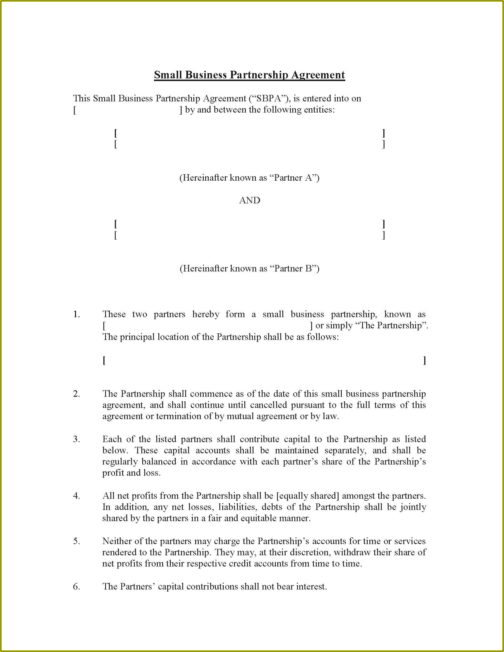 Law Firm Partnership Agreement Malaysia Sample