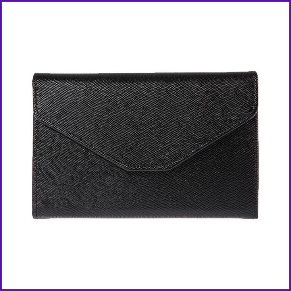 Leather Cash Envelope Wallet