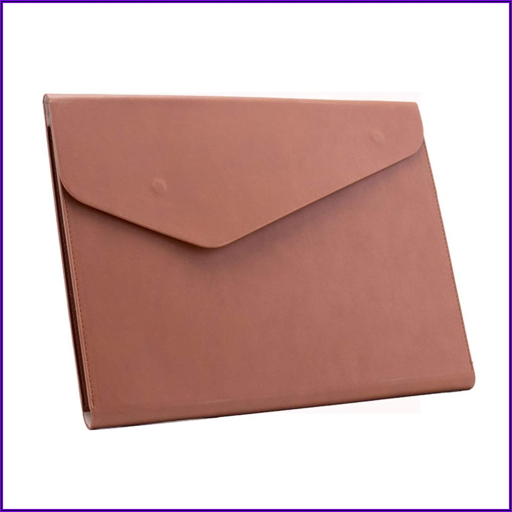 Leather Envelope Document Holder