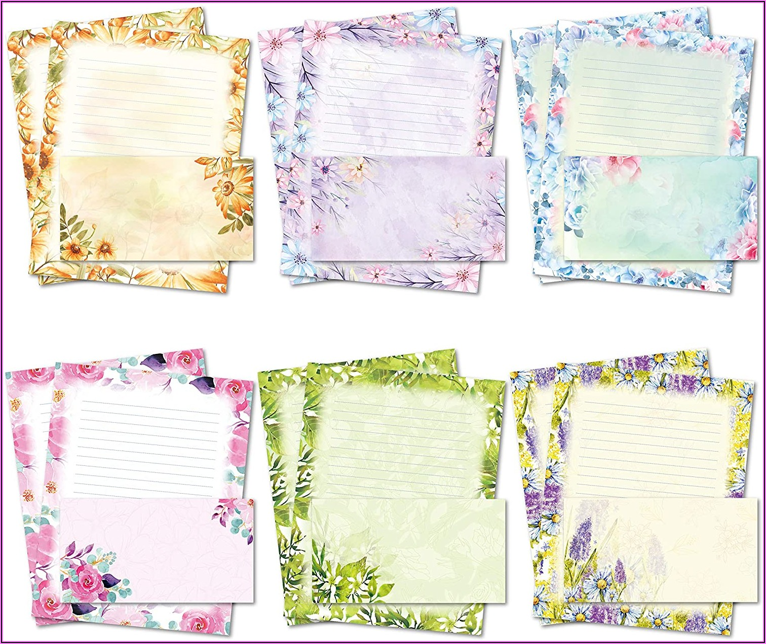 Letter Writing Set With Envelopes
