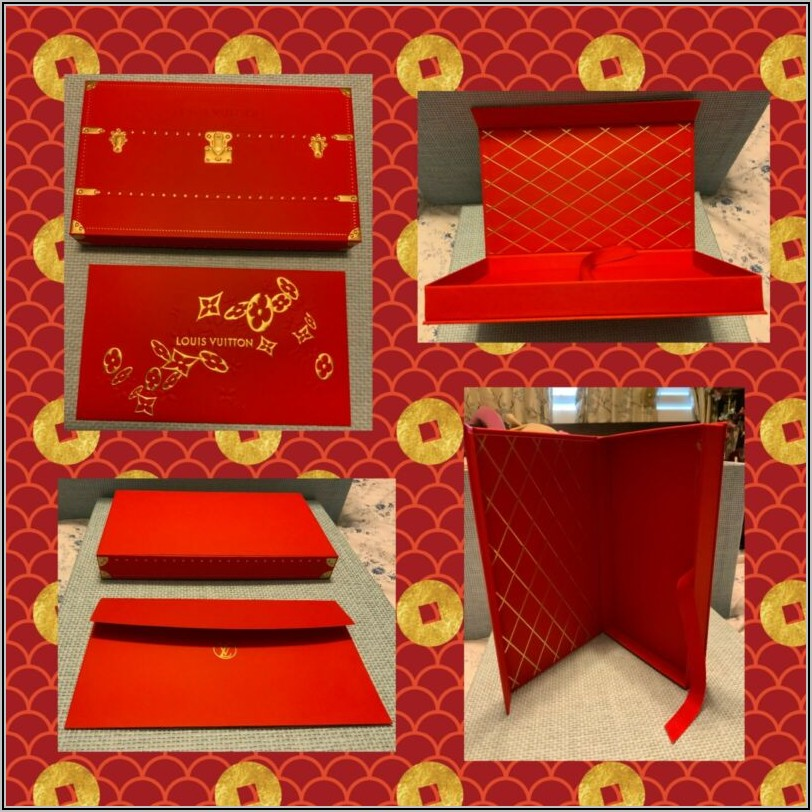 Louis Vuitton Red Envelope Chinese New Year