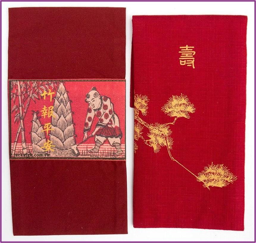 Lunar New Year Red Envelopes Aritzia