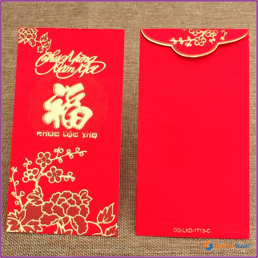 Lunar New Year Red Envelopes Tradition