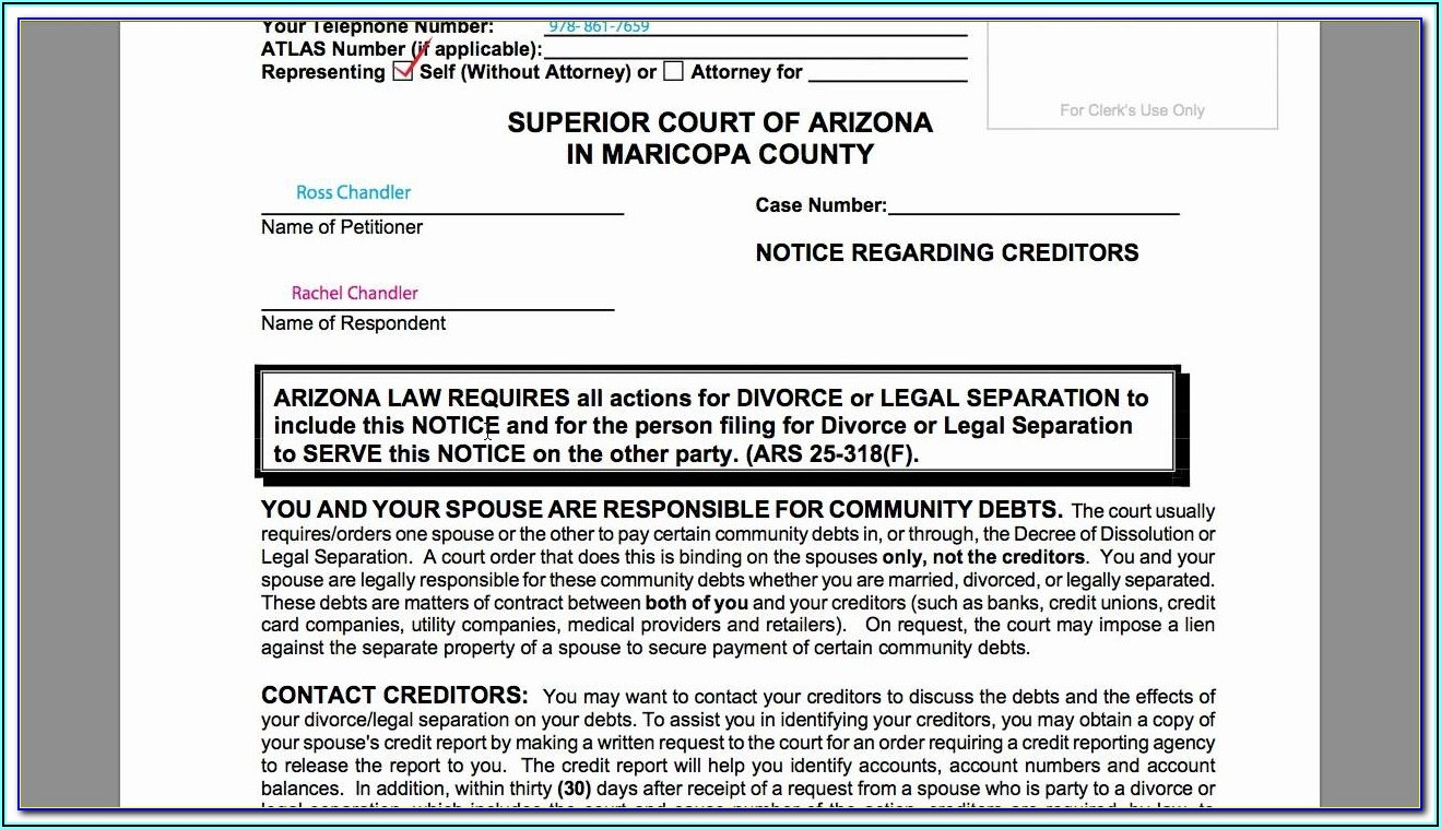 Manatee County Divorce Filing Fees