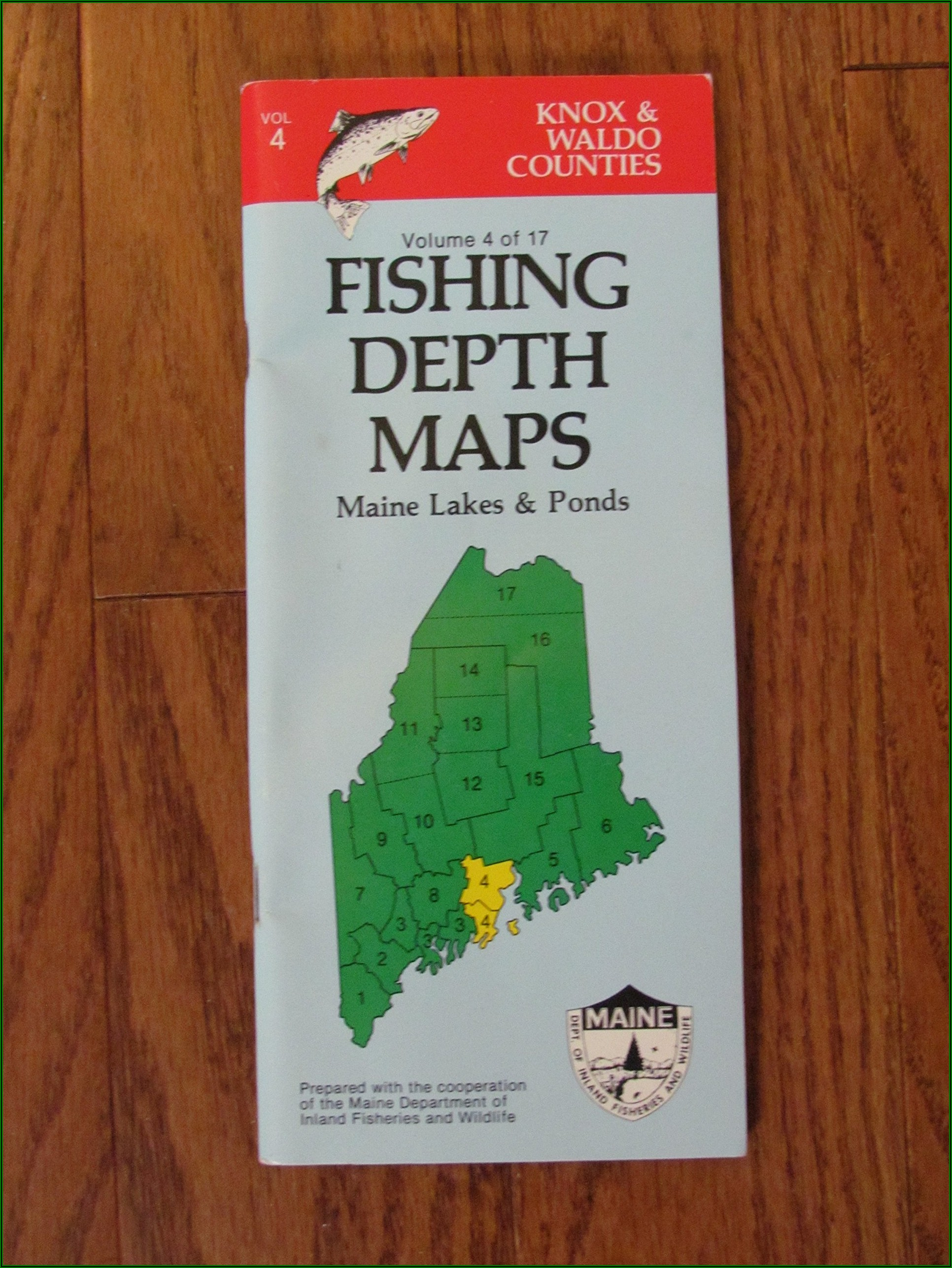 Maps Of Maine Lakes