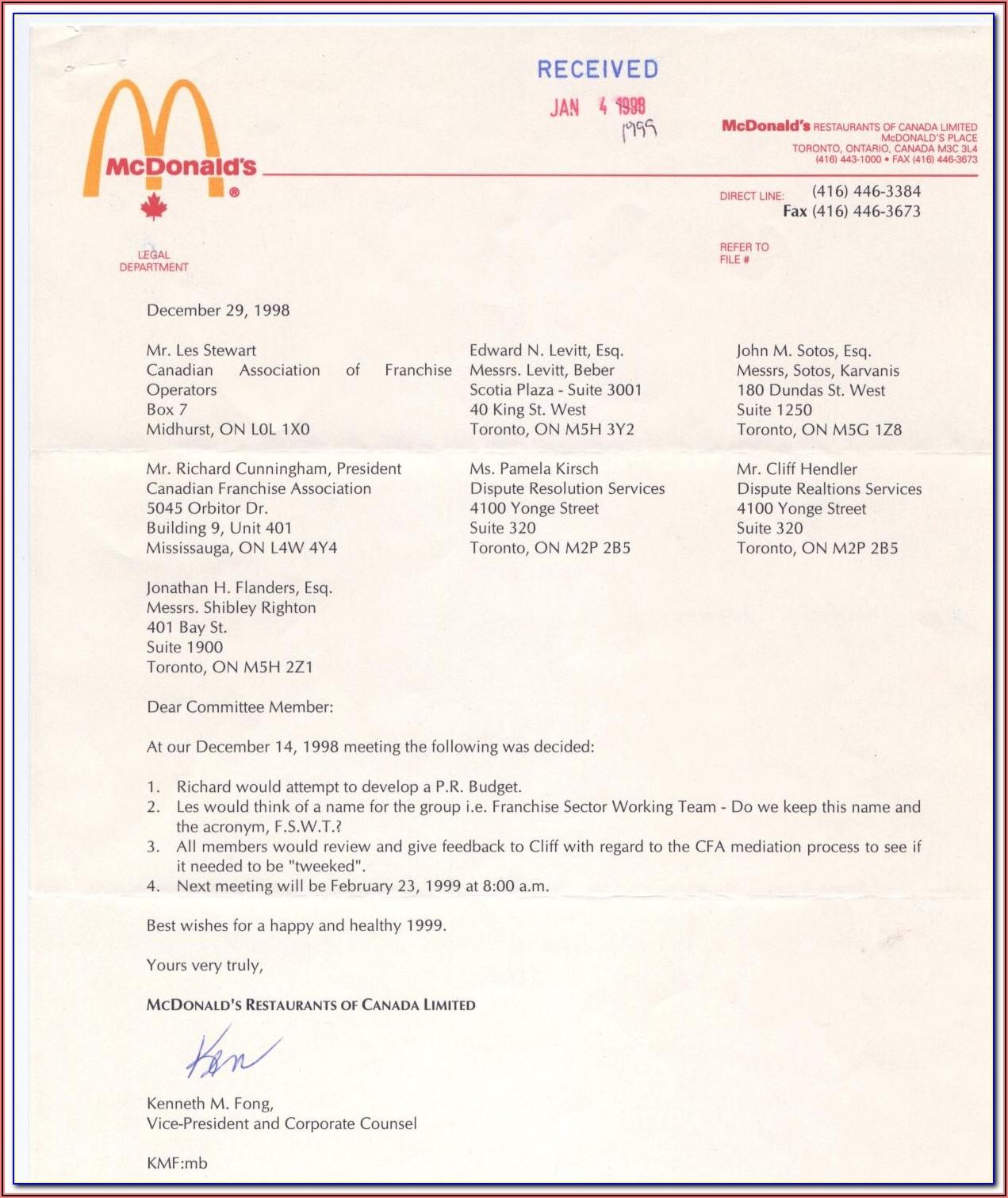 Mcdonalds Jobs Application Form Online