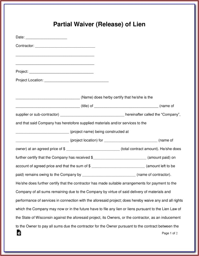 Michigan Construction Lien Act Forms