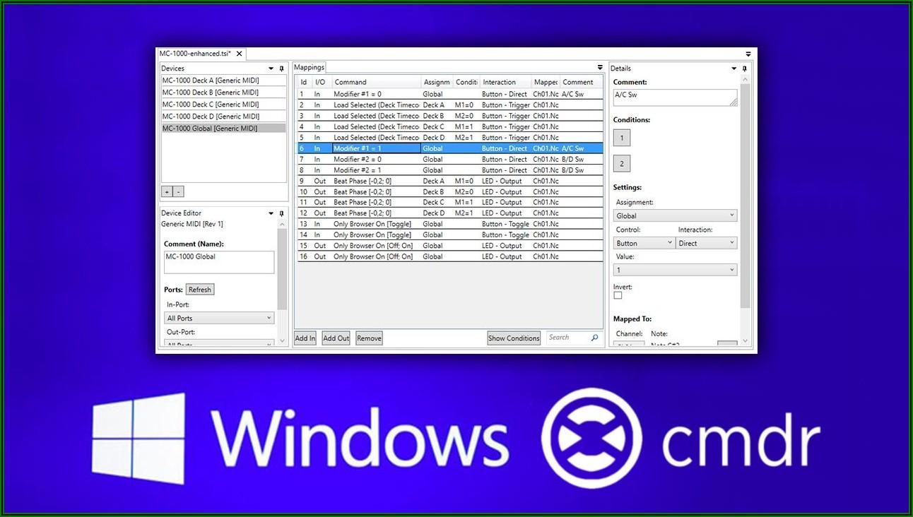 Midi Mapping Software Windows