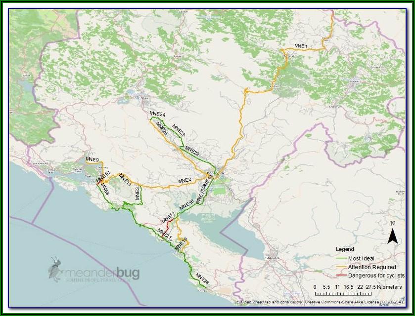 Motorcycle Touring Maps Europe