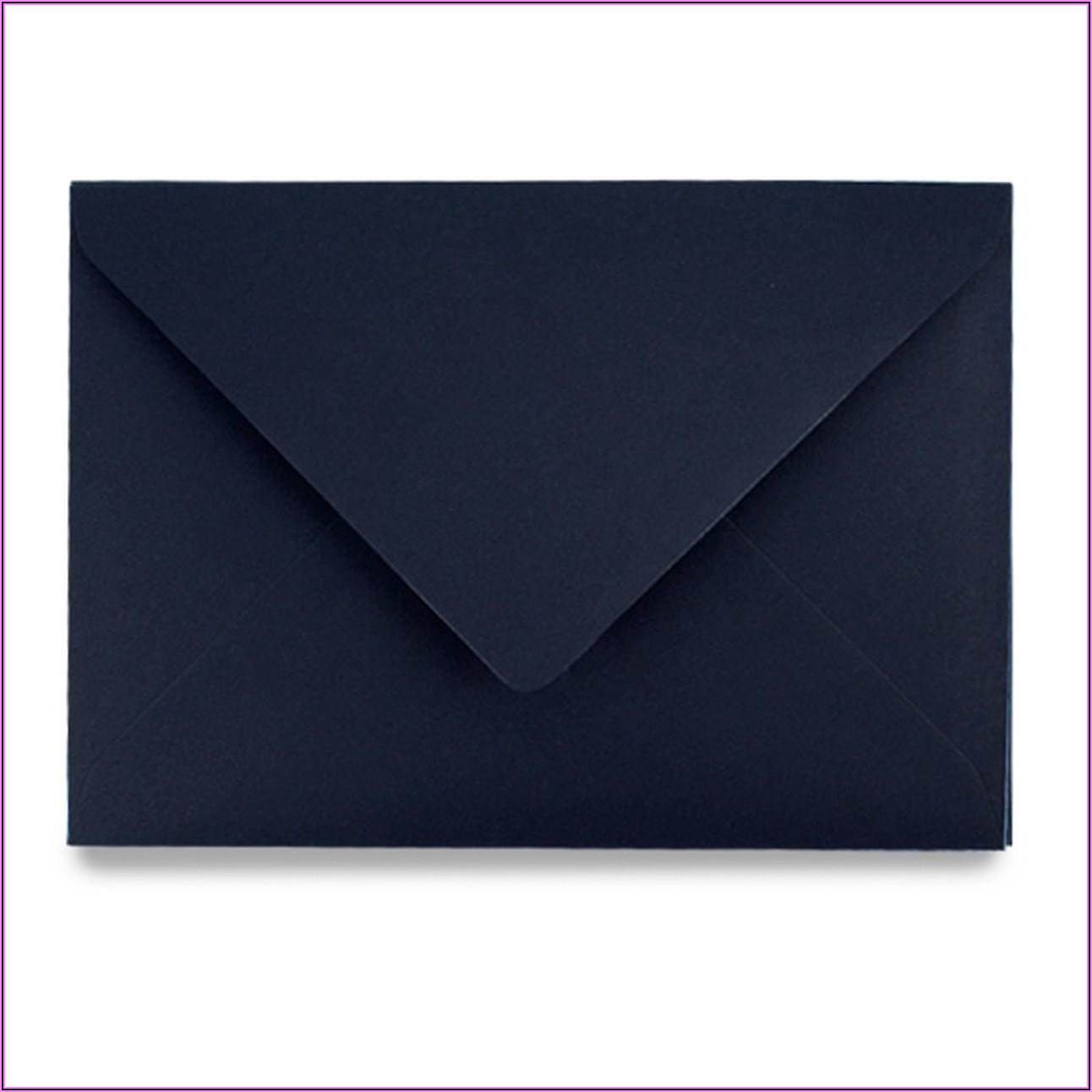 Navy Blue C5 Envelopes