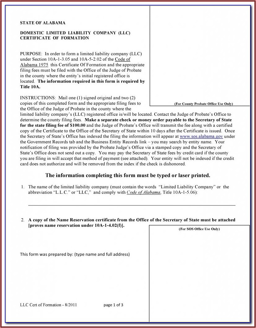 Nevada Secretary Of State Llc Forms