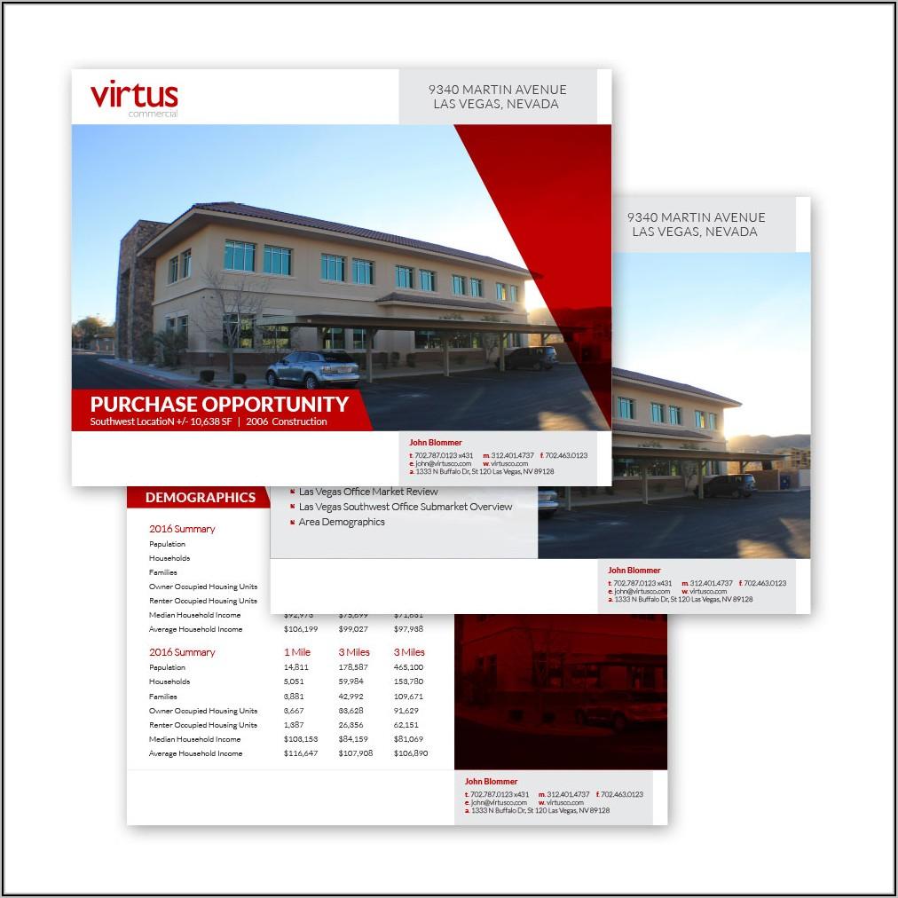 Offering Memorandum Real Estate Development Template