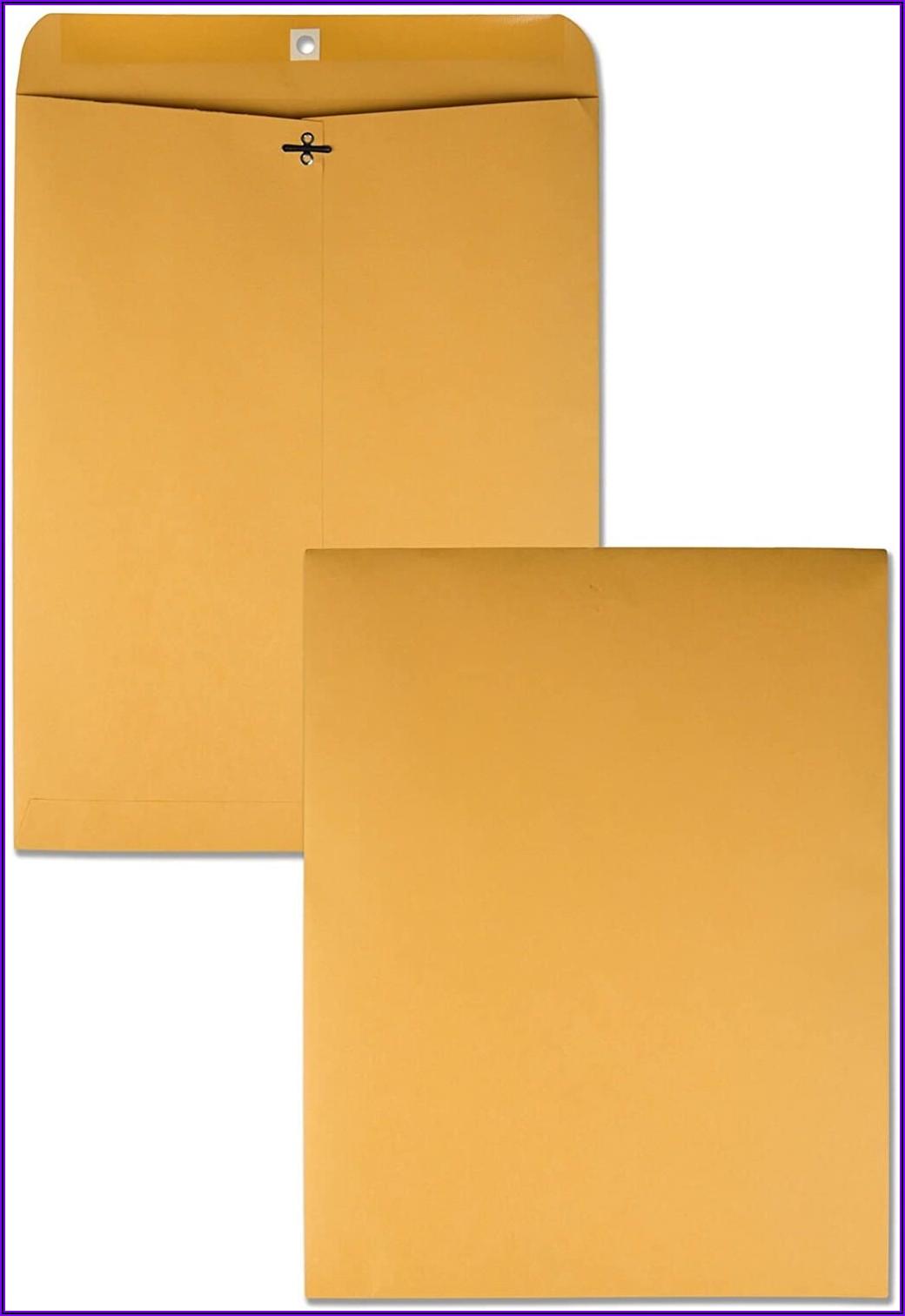 Office Depot 9x12 Clasp Envelopes