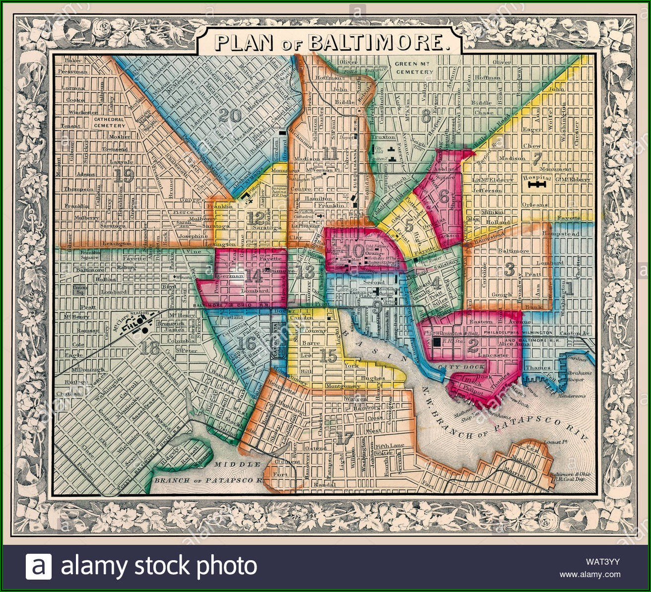 Old Baltimore Street Maps