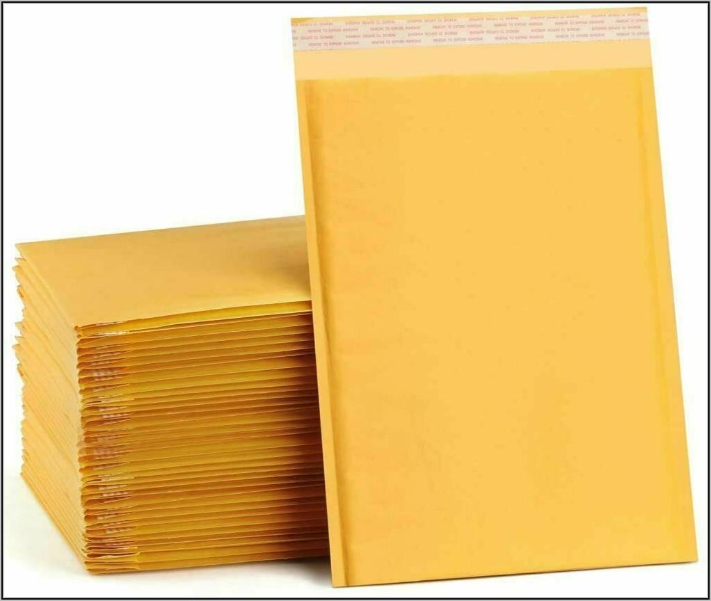 Padded Manila Envelope Sizes